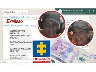 12 millones de pesos por falsos contratos de trabajo en la gobernación y alcaldía