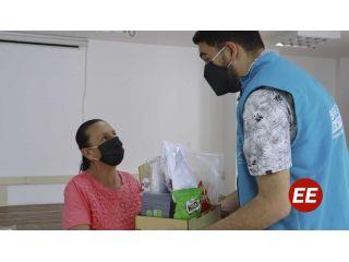 Vendedores informales de Santa Rosa recibieron elementos de bioseguridad