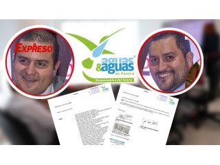 ¿Un concurso en Aguas y Aguas que tiene nombres propios?