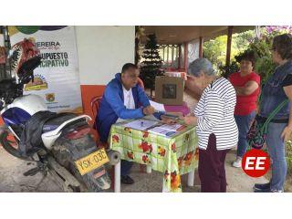Corregimiento de Tribunas eligió presupuesto participativo