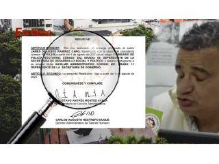 James de Jesús Ramírez ya no es comisario de familia en la alcaldía de Pereira