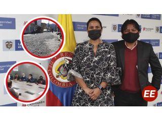 Alcalde de Pueblo Rico logro convenio para para la realización de la pavimentación de la calle 8 en el casco urbano del municipio por un valor de 618 millones de pesos.