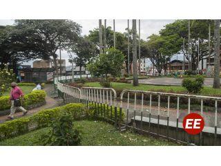 Cerrados parques de la ciudad de Pereira para mitigar contagios de COVID-19