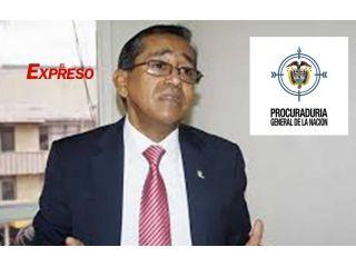 Juez ordena que Procurador Ernesto Amezquita acate una tutela y que le abran investigación