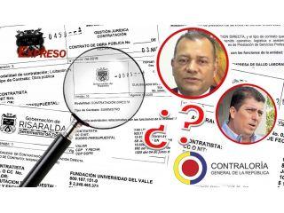 Contralor de Risaralda, ¿Cuándo investiga los contratos por 29.900 millones de la Gobernación?