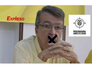 A Carlos Crosthwaite la Procuraduría lo sanciona por las recusaciones en la CARDER
