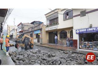 Inician las obras de repavimentación en Santa Rosa