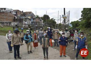 Administración 'Empresa de Todos' recuperó la quebrada Montebonito en el barrio La Okarina