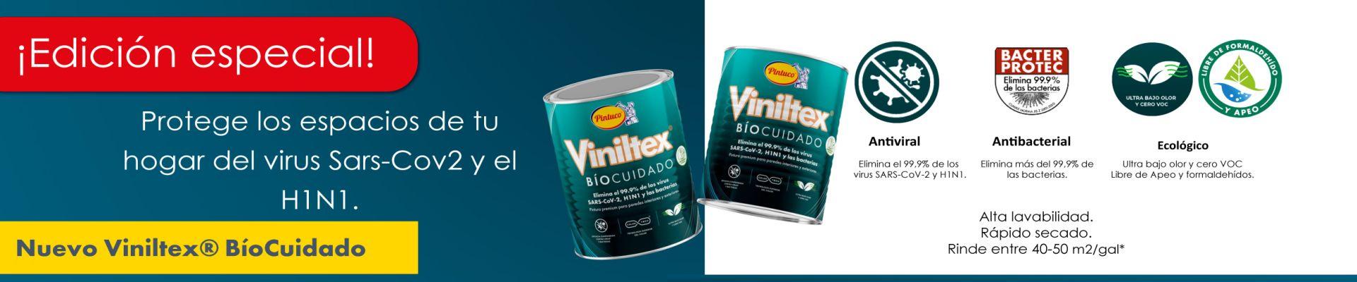 Pintura Viniltex Biocuidado