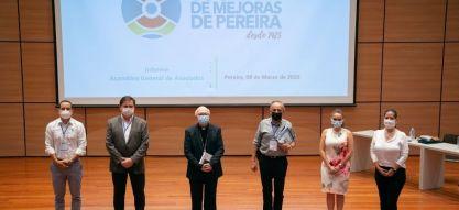 La Sociedad de Mejoras de Pereira ingresó a la Junta Directiva de la Federación Nacional de SMP de Colombia