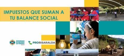 ProRisaralda acompaña empresarios para convertir sus impuestos en proyectos para la comunidad
