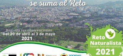 Pereira es una de las cinco ciudades de Colombia que se unen al Reto Mundial Naturalista