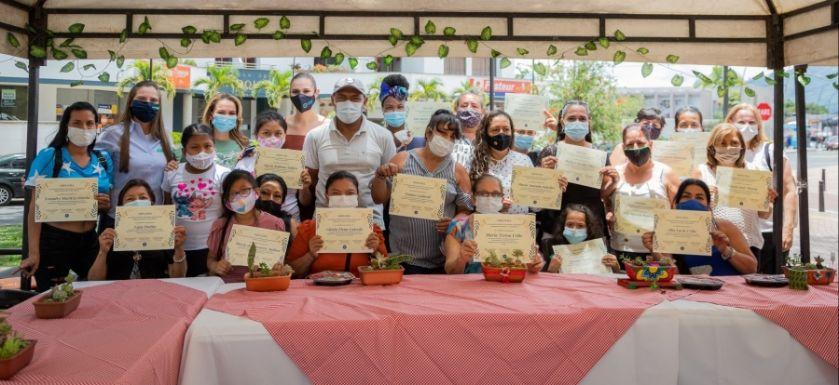 Se realizó la clausura del proyecto Cultivemos La Paz en Familia