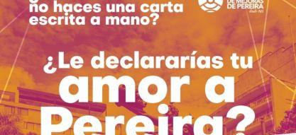La sociedad civil organizada se une para declararle su amor a Pereira a través de una toma cultural