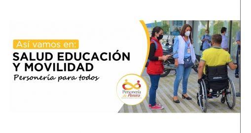 El año de los mayores retos para la Delegada en Salud, Educación y Movilidad