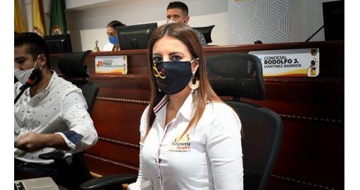 Personera de Pereira presentó informe de gestión 2020 al Concejo Municipal