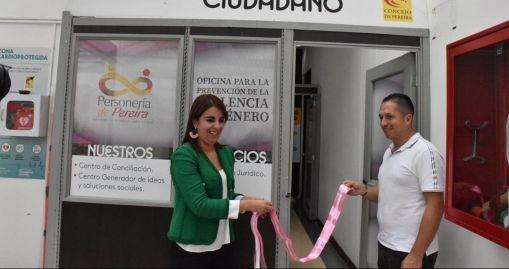 Personería inaugura oficina para prevenir la violencia de género