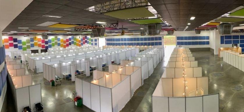 Tras superar el pico de la pandemia en Risaralda, será desmontado el centro de atención de salud de baja complejidad dispuesto en Expofuturo