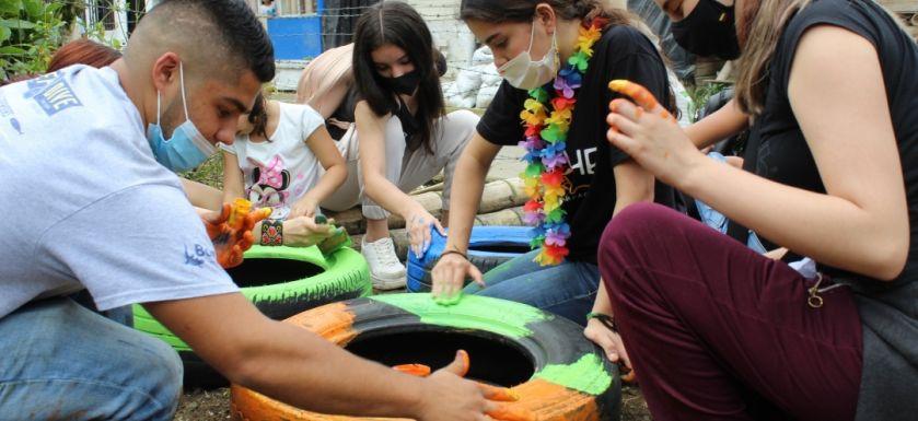 Inició el ciclo de formación vivencial en los barrios La Laguna y El Rocío